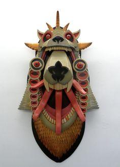 Pop Out Beast Sculptures - My Modern Met - AJ Fosik