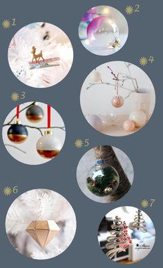 DIY: Bolas y adornos para el árbol de Navidad   Decorar tu casa es facilisimo.com