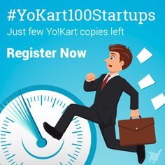 If you haven't signed up for #YoKart100Startups yet, this is your last chance. Hurry Now #Ecommerce #onlinestore #startups #entrepreneurs #Onlinemarketplace