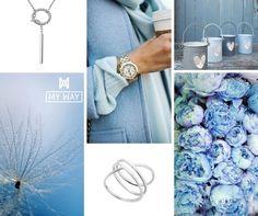 My Way Jewellery; blue