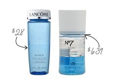 """Take It Off. """"It can be hard to find an eye makeup remover that takes everything off with minimal effort, especially as brands are swapping out old products for new, oil-free versions. Lancome's Bi-Facil has been a cult favorite for years, but hunting down this Boots No7 remover could save you some serious cash..."""""""
