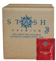 Stash Tea Chai Spice Black Tea, 100 Count Box of Tea Bags in Foil *** You can find out more details at the link of the image.