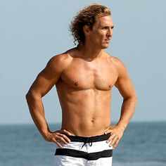 MATTHEW MCCONAUGHEY Shirt Off PICTURES PHOTOS and IMAGES
