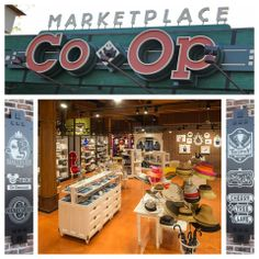 The Marketplace Co-Op is now open in Disney Springs at the Walt Disney World Resort! This picturesque location features six boutiques containing a variety of unique Disney Parks merchandise, serving as a testing space for new concepts, shops and products. Walt Disney Orlando, Downtown Disney, Disney Honeymoon, Disney Vacation Planning, Walt Disney World Vacations, Disney Trips, Vacation Deals, Florida Resorts, Park Resorts