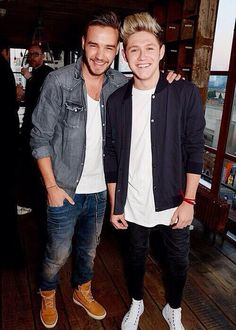 Liam Payne and Niall Horan<<< Brothers.. Lads.. Friends.. Etc. Etc. <3