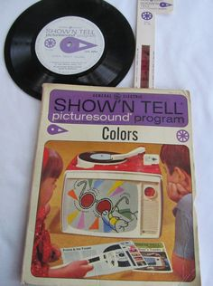 Color Learning Show N Tell Picture Educational by ReVintageLannie ReVintageLannie.Etsy.com