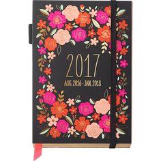 Pink Floral Planner