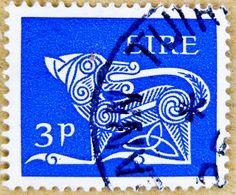 stamp Eire Ireland