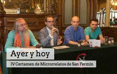 Te invitamos (y recomendamos) que conozcas la obra ganadora del Certamen de #Microrrelatos de #SanFermin. #Yafaltamenos aldeavillana.com