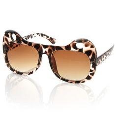 8257619741 Popular Womens Designer Fashion Cat Ears Sunglasses 8577