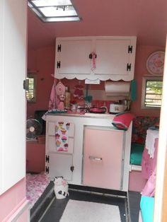 Another pink decor caravan.
