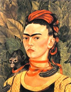 Frida Kahlo paintings, she is so great as a painter and human being, her life is amazing, she is beyond styles, her art came from necessity and love of life.