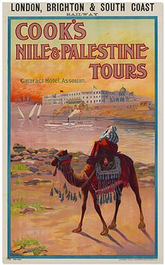 Cook's Nile and Palestine Tours | The Palestine Poster Project Archives