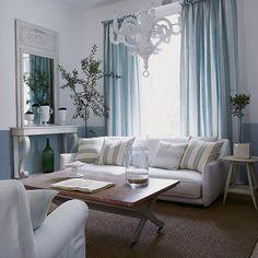 70 meilleures images du tableau Deco salon bleu | Living Room ...
