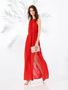 MOHITO - Sukienka z dekoltem halter