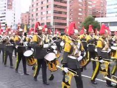 Este jueves 24 de mayo, el presidente de la República, Rafael Correa Delgado presidió la Gran Parada Militar acompañado por el ministro de Defensa Nacional, Miguel Carvajal y el Alto Mando Militar al conmemorarse los 190 años de la Batalla de Pichincha y Día de las Fuerzas Armadas, en la Tribuna de la avenida de Los Shyris.