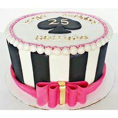 Kate Spade inspired cake.