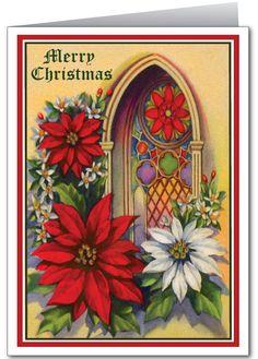 Christian Vintage Christmas Card