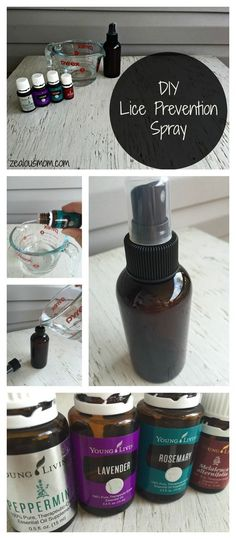 Terrified of your children coming home with lice? Try this DIY, homemade lice prevention spray made with essential oils. It's been working very well for my boys! I use essential oils from Young Living, but any therapeutic-grade brand would work.