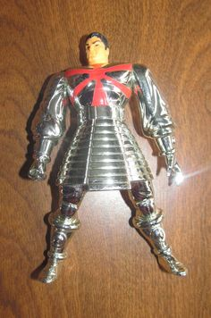 Toybiz Silver Samurai. Part of a Grab-Bag at Goodwill for .99 cents with 3 other figures.