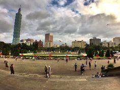 At Sun Yat-sen Memorial Hall in Taipei, Taiwan. Taipei skyline. SWEET SUGAR by…