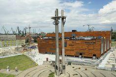 Europejskie Centrum Solidarności w Gdańsku, proj. FORT. Zdjęcie z lipca 2014 r.