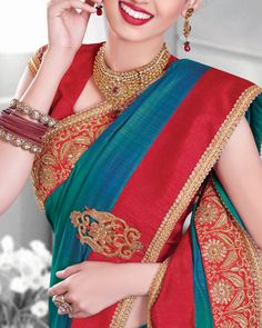 Shine With Confidence And Charm By Wearing These Wedding Sarees Fabricated With Great Quality Art Silk Fabric, Heavily Ornamented With Zari Embroidery And Patch Border Work. Shop Now: PRODUCT CODE: SFJT6412  #EthnicWear #Wedding #Party #Pink #Fancy