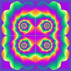 Rainbow Flower (100 pieces)