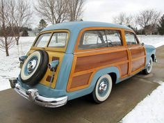 1951 Ford Country Squire Station Wagon Woodie