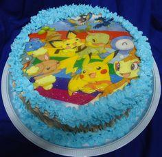 Bolo Pokémon - Pokémon Cake - https://www.docemeldoces.com