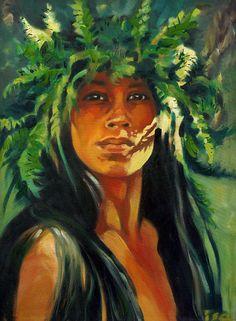 Spirit Of Kapinao Heiau by Isa Marie