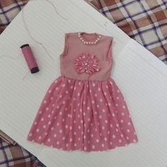 Mini Cute Dress ♡♥ (Handstiching)
