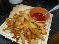 Home made NZ hot chips:)