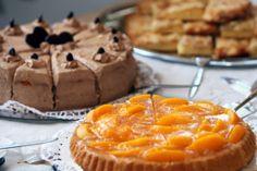 Buffet de desserts mariage : bar à tartes