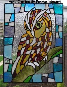 Screech Owl Style 1 Static Window Cling