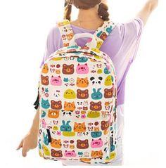 Brand New Trendy Hippie School Backpack Colorful Backpacks, Cheap Backpacks, School Backpacks, Canvas Backpacks, Preppy Mode, Preppy Style, Canvas Laptop Bag, Shoulder Backpack, Rucksack Backpack