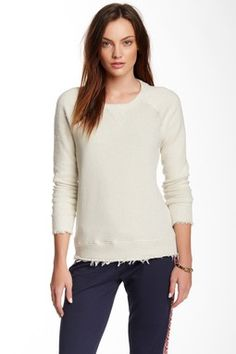 Long Sleeve Pullover Sweatshirt