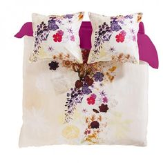 Housse de couette ANDALOU IMPRIME Percale De Coton, Gift Wrapping, Tableware, Bedding, Gifts, Home, Table Linens, Duvet, Slipcovers