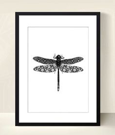 Poster poster black and white graphic dragonfly Posters, illustrations, posters by digitalartparis Source by dothee Casa Rock, Illustration Photo, Isometric Art, Stamp Carving, Tinta China, Madhubani Painting, Paintings I Love, Linocut Prints, Screen Printing