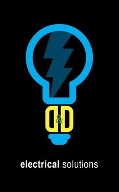 Custom and original logo design.  Electrician logo. Created by Bell Graphic…