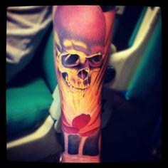 Tatoo skull