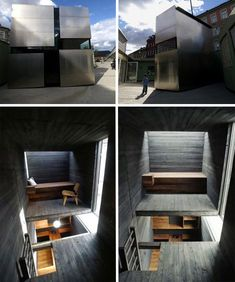 Metal-Clad Prefabricated Box Home