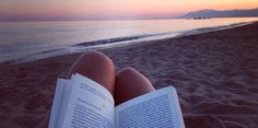 Read in the beach