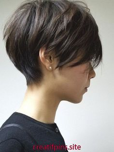 58 Cute Short Hairstyles for Women That You Can Try shorthairstyles shorthairs . : 58 Cute Short Hairstyles for Women That You Can Try shorthairstyles shorthairs . Cute Hairstyles For Short Hair, Pixie Hairstyles, Pixie Haircut, Short Hair Cuts, Curly Hair Styles, Haircuts, Short Hair For Girls, Prom Hairstyles, Hairstyle Ideas