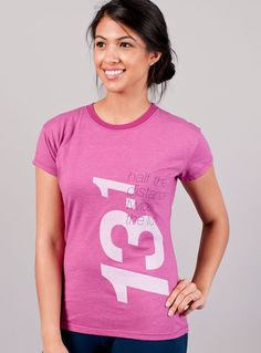 Women's Running T-Shirt - Big Half Marathon Tee | Oiselle Running Apparel for Women