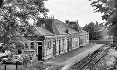 Stourbridge Town Station West Midlands summer 1975 by loose_grip_99, via Flickr