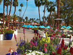 Rancho Las Palmas Resort in Rancho Mirage, CA.