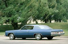 1973 Chevy Impala. It was a tank. LOL