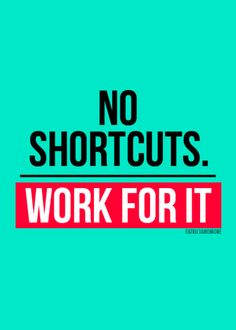 There are no short cuts, train hard and eat well. Your body will thank you.