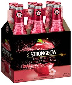 Strongbow Launches Cherry Blossom Hard